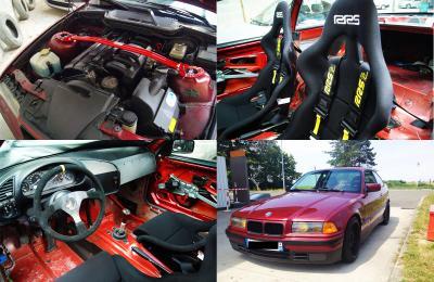 Bmw M3 A Vendre >> BMW E36 Coupé 320i Circuit / Piste / Drift - pièces et ...