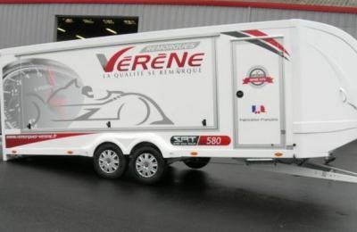 remorque porte voiture ferm 233 e race trailer de verene pi 232 ces et voitures de course 224