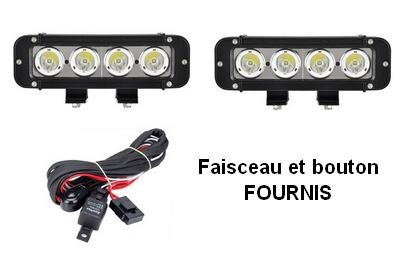 rampe de phare 16 leds pi ces et voitures de course vendre de rallye et de circuit. Black Bedroom Furniture Sets. Home Design Ideas