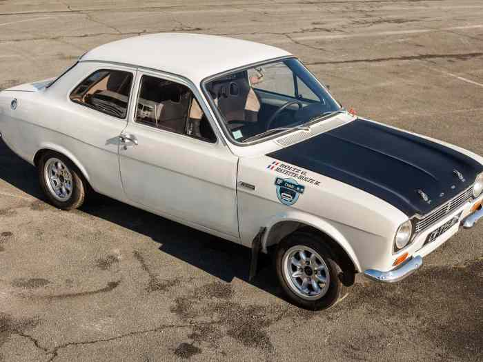 Ford Escort groupe 1 VHC