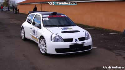 RALLY SERVICE RACING LOUE 2 clio super...