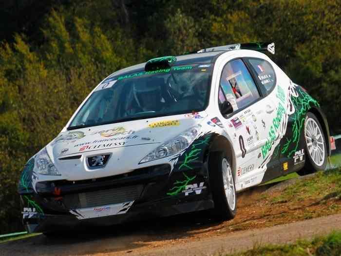 207 f2000 14 maxi rallye c te rallycross autocross pi ces et voitures de course vendre. Black Bedroom Furniture Sets. Home Design Ideas