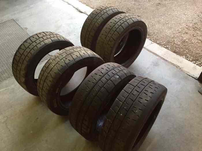 pneus pirelli rk7 et rkw7 en 195 50 16 pi ces et voitures de course vendre de rallye et de. Black Bedroom Furniture Sets. Home Design Ideas