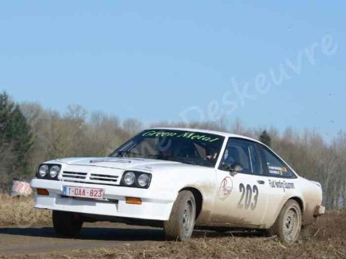 opel manta pi ces et voitures de course vendre de rallye et de circuit. Black Bedroom Furniture Sets. Home Design Ideas