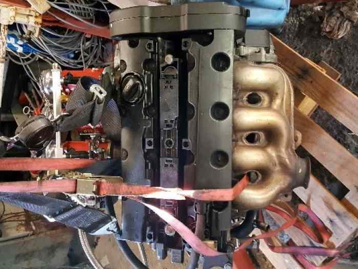 moteur 206 2l s16 4 papillons pi ces et voitures de course vendre de rallye et de circuit. Black Bedroom Furniture Sets. Home Design Ideas