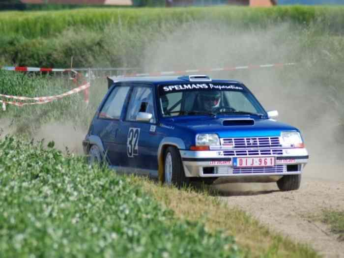 Renault 5 GT Turbo Gr. A 4