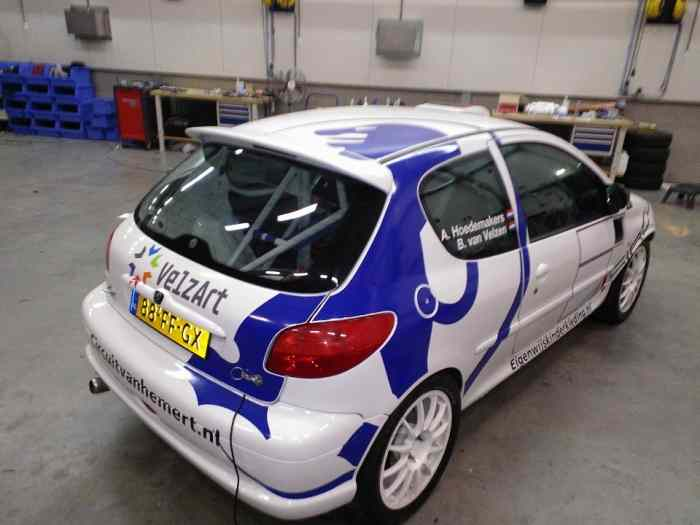 Peugeot 206 group A nuveau