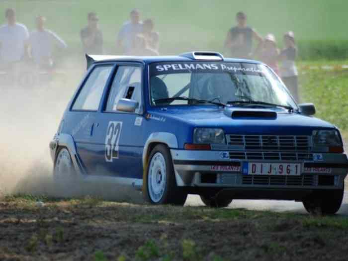 Renault 5 GT Turbo Gr. A 0
