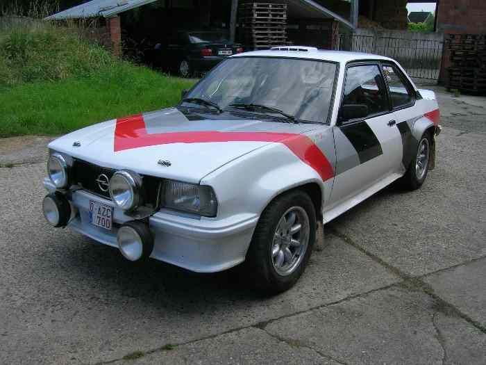 opel ascona 1976 pi ces et voitures de course vendre de rallye et de circuit. Black Bedroom Furniture Sets. Home Design Ideas
