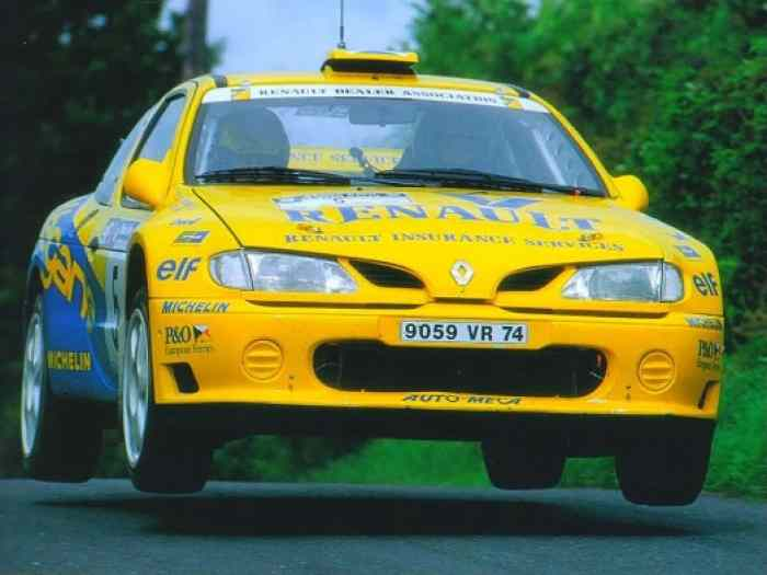 MEGANE MAXI Kit Car Champion Angleterre