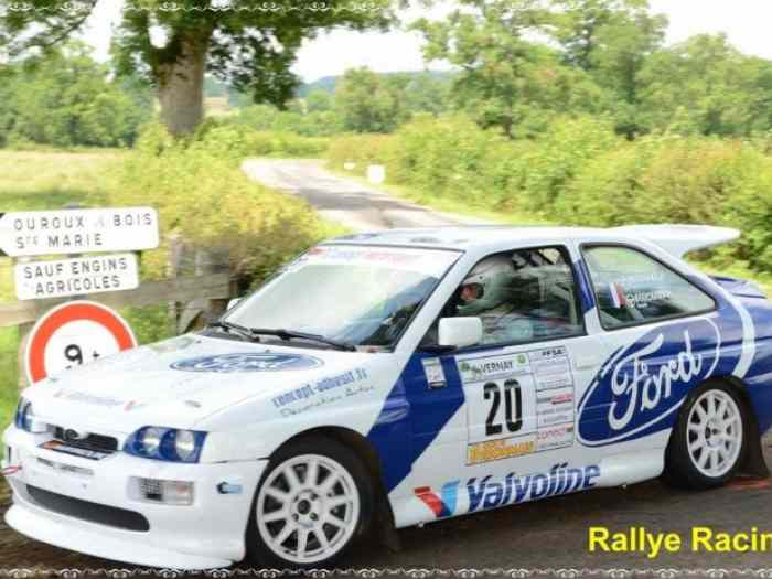 Ford Escort cosworth TOP GRN groupe N4...