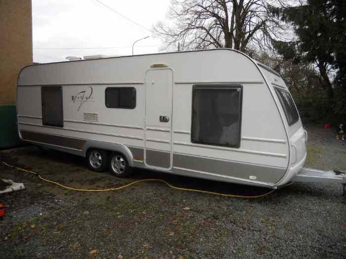 a vendre caravane tabbert davinci double essieux 655kdf top tat pi ces et voitures de. Black Bedroom Furniture Sets. Home Design Ideas
