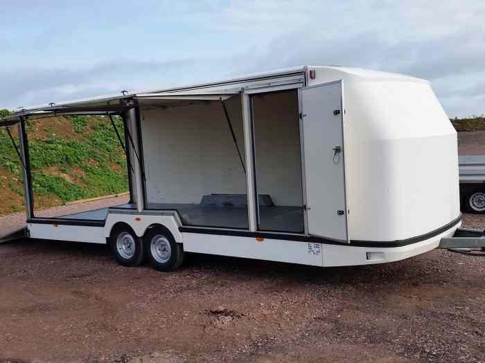 remorque fourgon jumbo de barbot rare pi ces et voitures de course vendre de rallye et. Black Bedroom Furniture Sets. Home Design Ideas