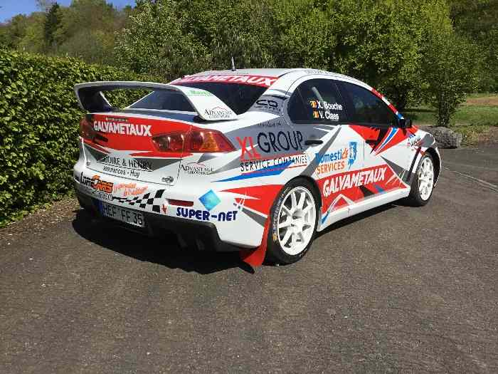 MITSUBISHI LANCER EVO X GR.A Accepte REPRISE sur R5 / Valid to exchange + money cash with R5 2
