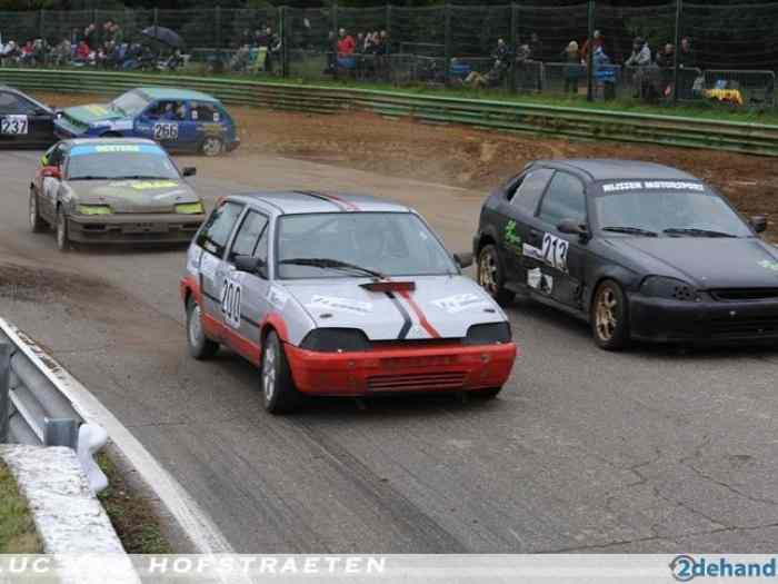 citro n ax gt pour rallycross pi ces et voitures de course vendre de rallye et de circuit. Black Bedroom Furniture Sets. Home Design Ideas