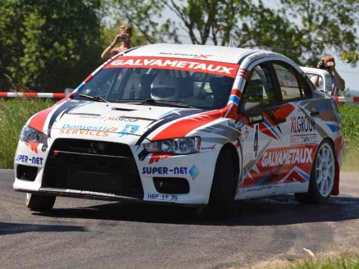 MITSUBISHI LANCER EVO X GR.A Accepte REPRISE sur R5 / Valid to exchange + money cash with R5 5