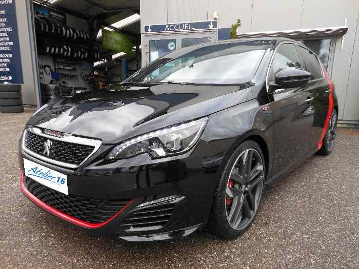 peugeot 308 gti 270 ch noir a bande rouge pi ces et voitures de course vendre de rallye et. Black Bedroom Furniture Sets. Home Design Ideas