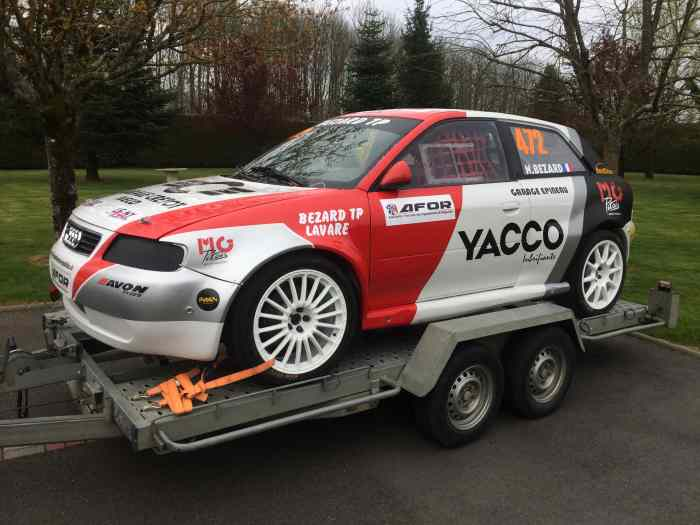 Audi A3 Division 4 Rallycross