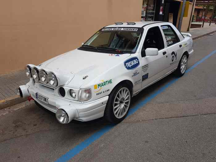 Ford sierra cosworth 2rm rally ( FICHA...