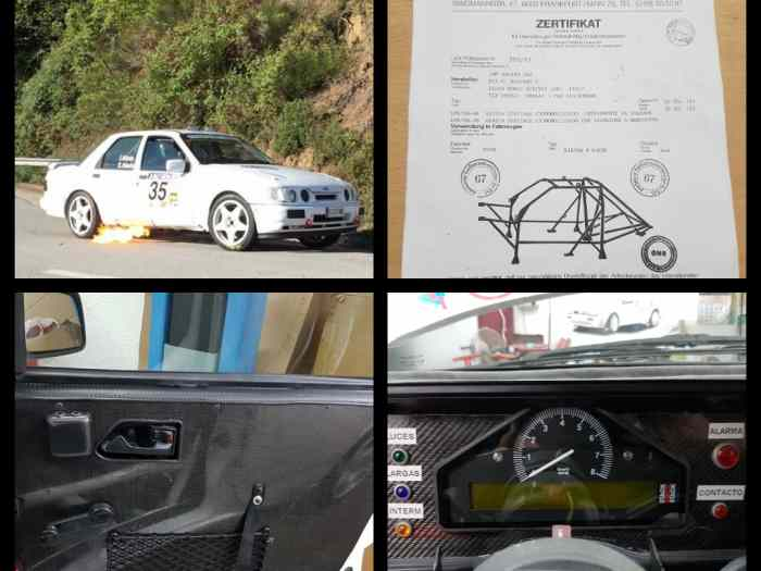 Ford sierra cosworth 2rm rally ( FICHA FIA ) 45.000 eu 2