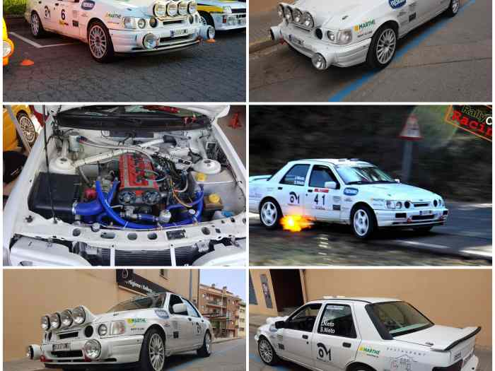 Ford sierra cosworth 2rm rally GRUPO A (FIA) 2