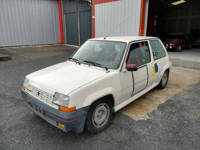 Renault 5 gt turbo phase 1groupe FN