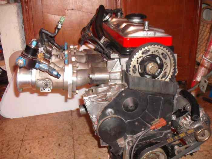 moteur 205 rallye o ax sport pi ces et voitures de course vendre de rallye et de circuit. Black Bedroom Furniture Sets. Home Design Ideas