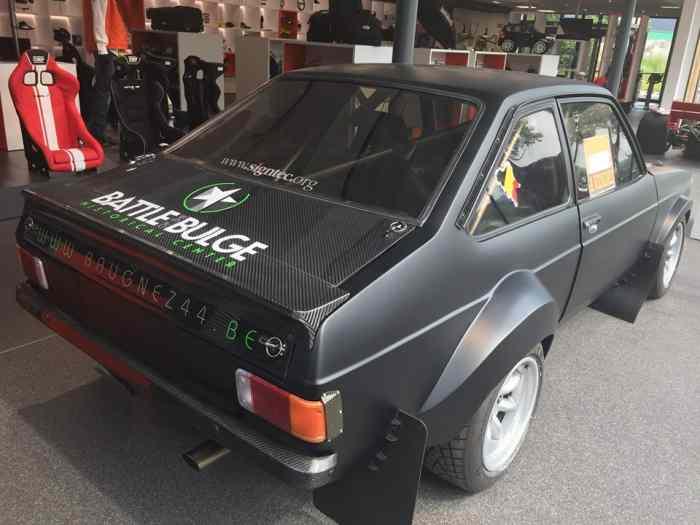 ford escort mkii rallye a vendre pi ces et voitures de course vendre de rallye et de circuit. Black Bedroom Furniture Sets. Home Design Ideas