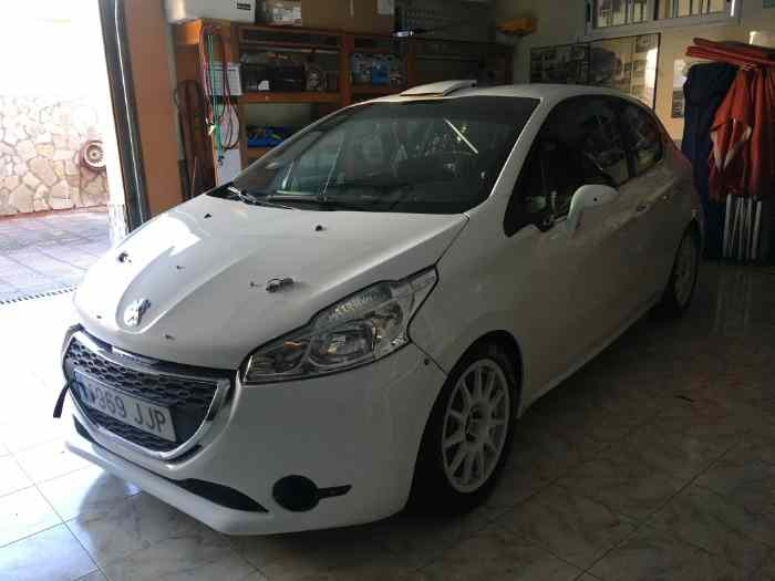 Peugeot 208 R2 spain full evolution 0