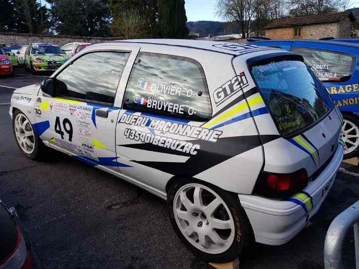 Clio williams groupe A ex-usine 5