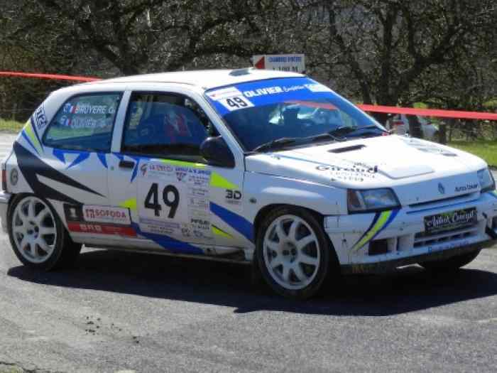 Clio williams groupe A ex-usine
