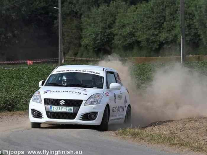 Suzuki Swift Sport 1.6 Group N Rally 2