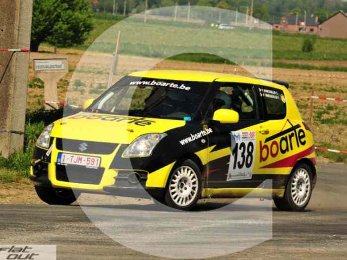 Suzuki swift 1.6 16v rally