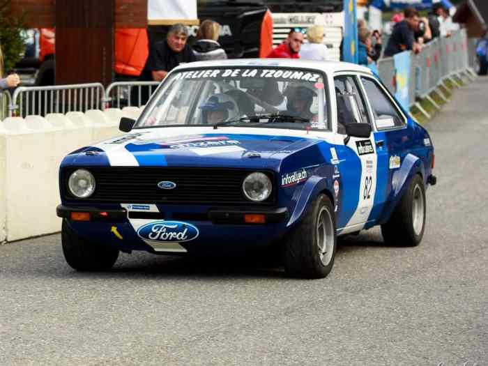 Ford escort groupe 4