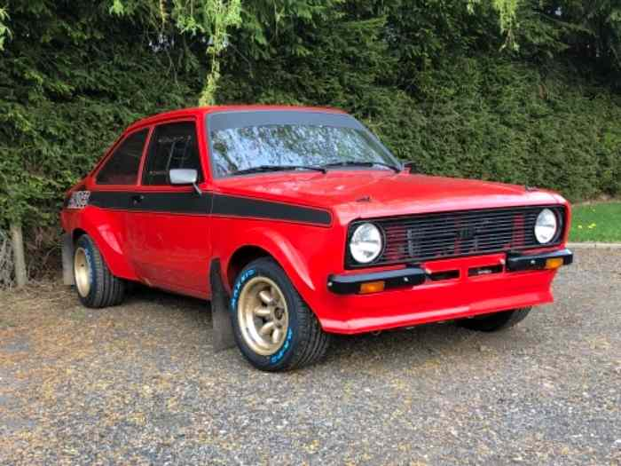 !!A VENDRE !! Ford Escort mk 2 rs 2000 groupe 4 VHC 0