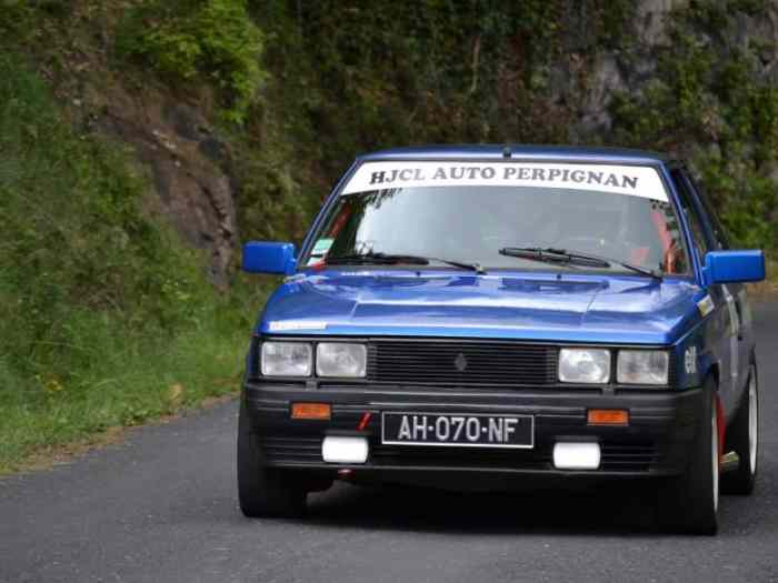 Renault 11 Turbo Phase 1 moteur Simon Racing Eligible VHC J1 1