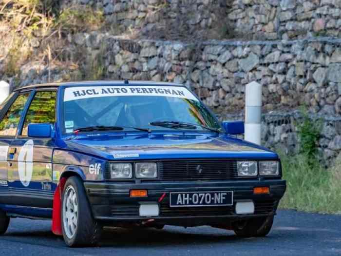 Renault 11 Turbo Phase 1 moteur Simon Racing Eligible VHC J1 4