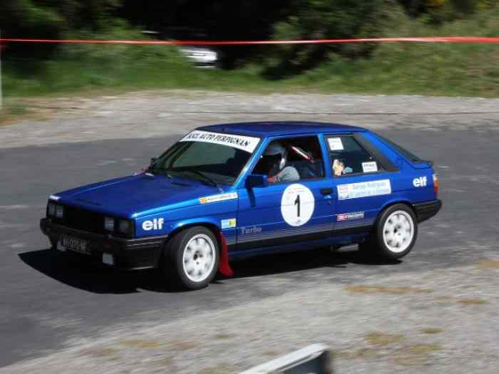 Renault 11 Turbo Phase 1 moteur Simon Racing Eligible VHC J1 0
