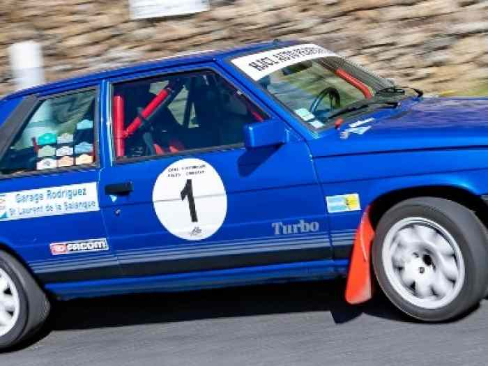 Renault 11 Turbo Phase 1 moteur Simon Racing Eligible VHC J1 3