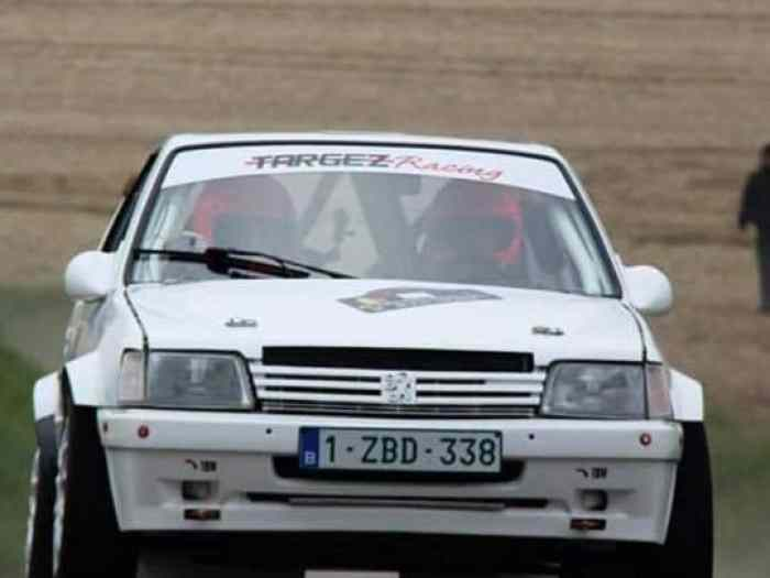 peugeot 205 maxi TOP 252ch sequentiel