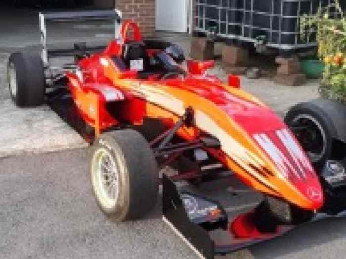 Dallara F308 evo 311 Mercedes 2