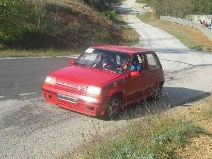 RENAULT 5 GT Turbo Groupe N