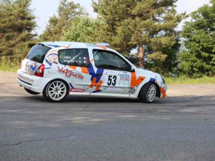 Clio Ragnotti N3 + Clio rs 2 phase 2