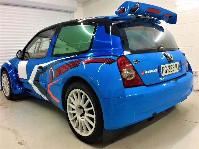 RENAULT CLIO S1600/ F2000 MAXI KIT CAR ( EX REMY RISALETTO) THE BEST CLIO IN THE WORLD !!!!!!! 3