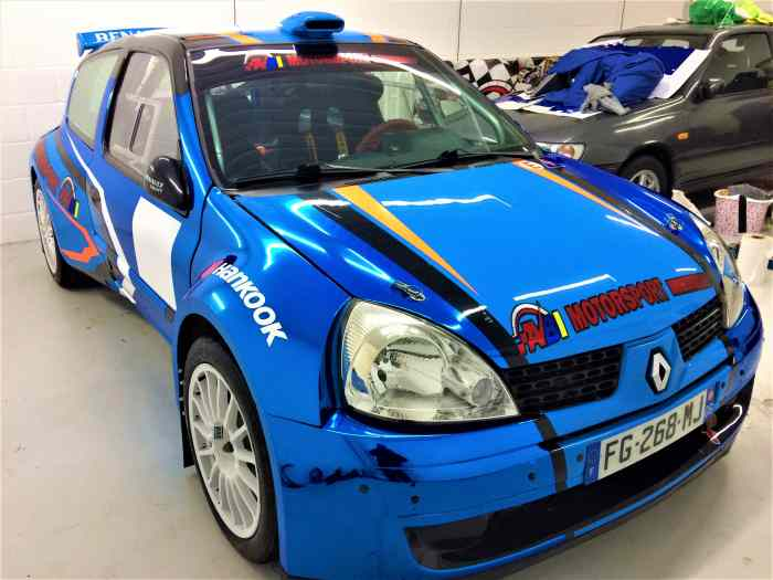 RENAULT CLIO S1600/ F2000 MAXI KIT CAR ( EX REMY RISALETTO) THE BEST CLIO IN THE WORLD !!!!!!! 0