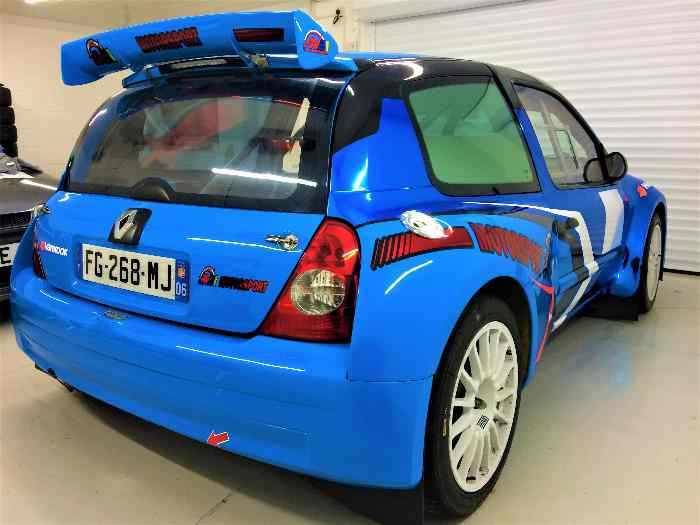 RENAULT CLIO S1600/ F2000 MAXI KIT CAR ( EX REMY RISALETTO) THE BEST CLIO IN THE WORLD !!!!!!! 2