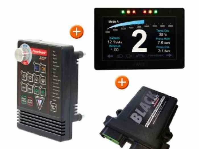 PACK E-RACE POWERBOARD+DASHBOARD+CALCU...