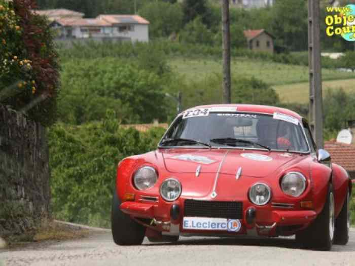 Alpine A110 1600 SC accidentée