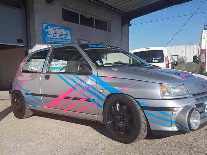 Clio 16s F7r710 Pieces Et Voitures De Course A Vendre De Rallye Et De Circuit