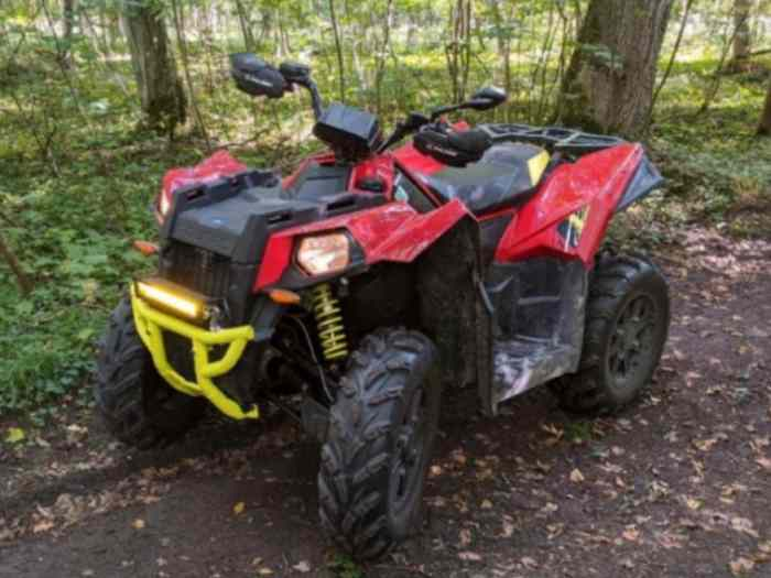 Quad polaris scrambler 1000 xp
